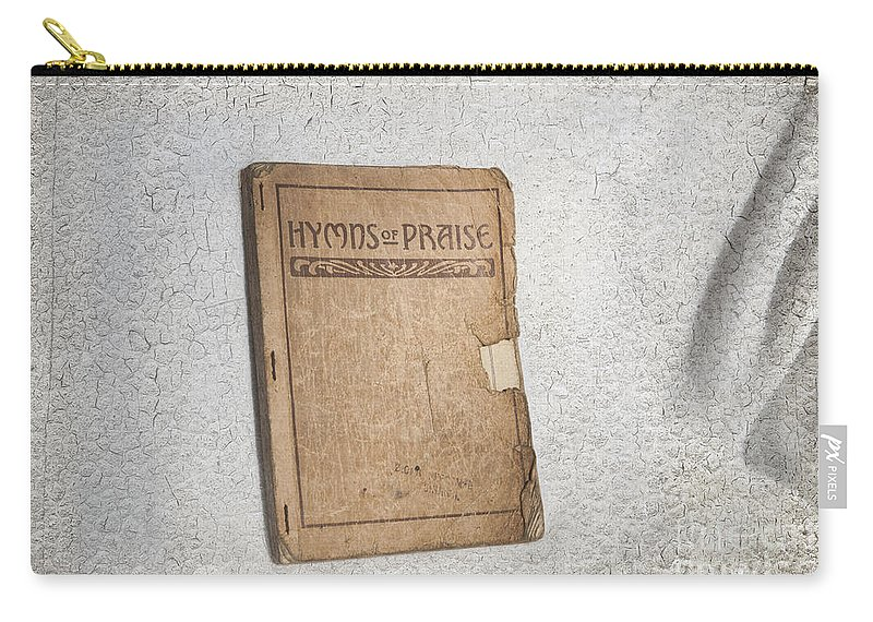 Hymnal Carry-all Pouch featuring the photograph Hymnal by David Arment