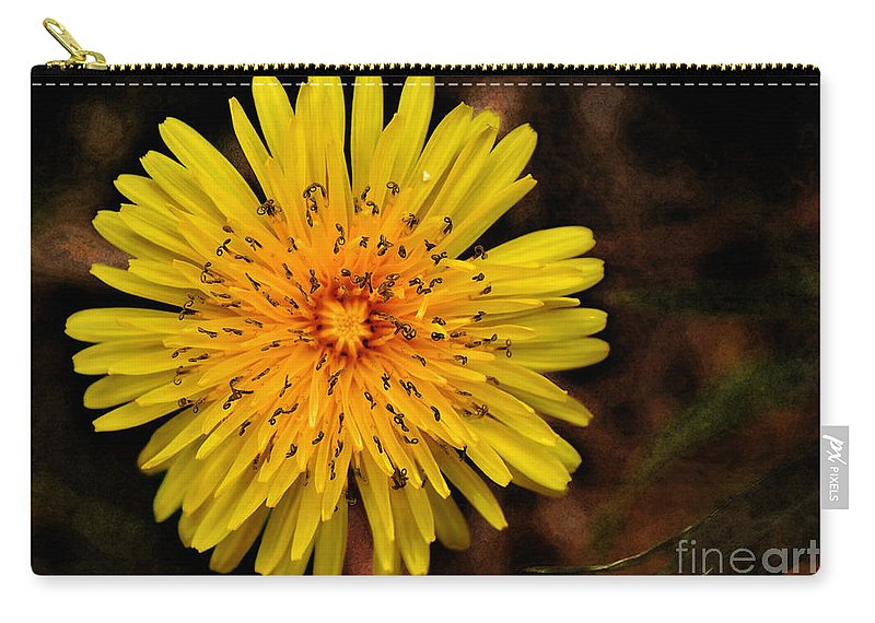 Photography Carry-all Pouch featuring the photograph I Want To Be A Flower... by Kaye Menner