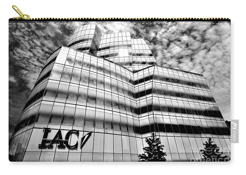 Iaci Carry-all Pouch featuring the photograph Iac Building by Mark Gilman