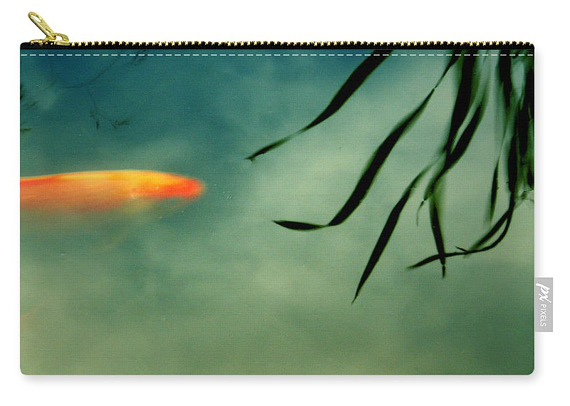 Fish Carry-all Pouch featuring the photograph Illusion by Aimelle