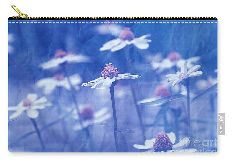 Daisies Carry-all Pouch featuring the photograph Imagine 06ht01 by Variance Collections