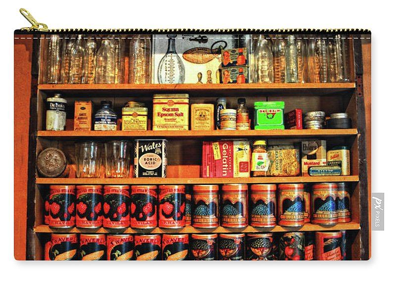 General Store Carry-all Pouch featuring the photograph In A General Store by Dave Mills