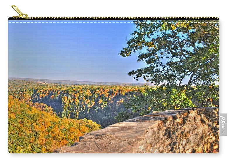 Carry-all Pouch featuring the photograph In Awe by Michael Frank Jr