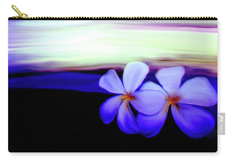 In The Evening Carry-all Pouch featuring the photograph In The Evening by Linda Sannuti
