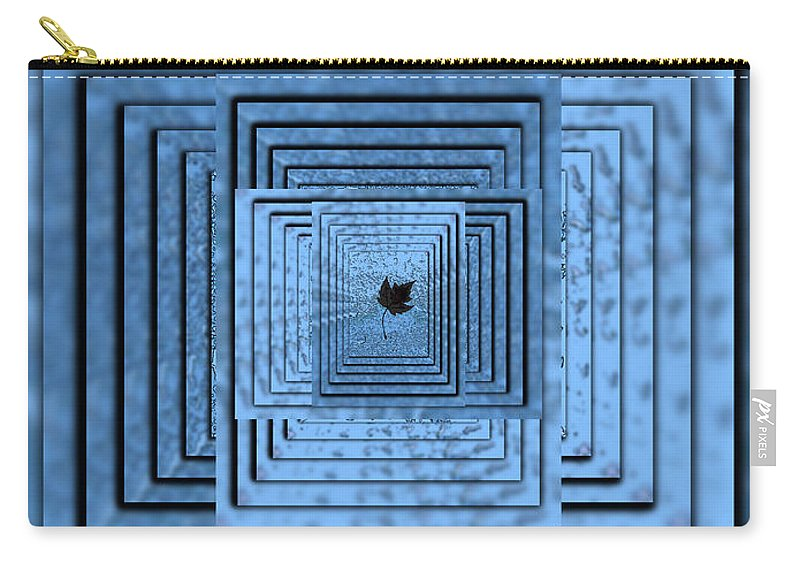 Abstract Carry-all Pouch featuring the digital art In The Eye Of The Storm 6 by Tim Allen