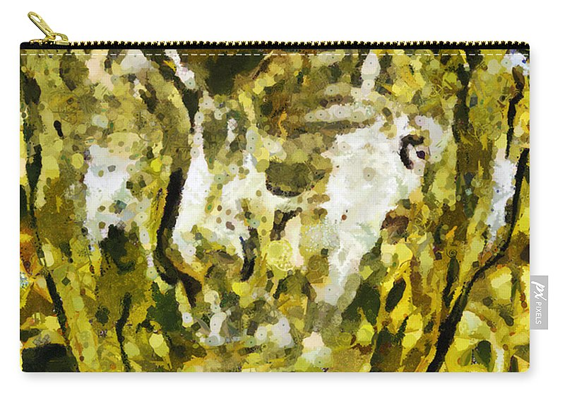 Head Carry-all Pouch featuring the photograph In Tune With Nature by Angelina Tamez