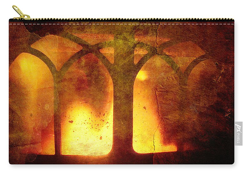 Fire Carry-all Pouch featuring the photograph Inferno by Mother Nature