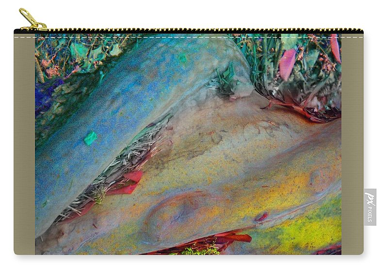 Nature Carry-all Pouch featuring the digital art Inner Peace by Richard Laeton