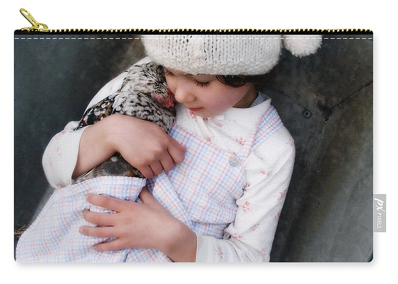 People Carry-all Pouch featuring the photograph Innocence Is Bliss by Jay Taylor