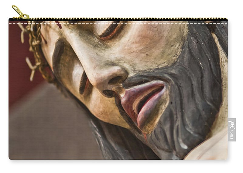 Goliad State Park Carry-all Pouch featuring the photograph Inri by Kim Henderson
