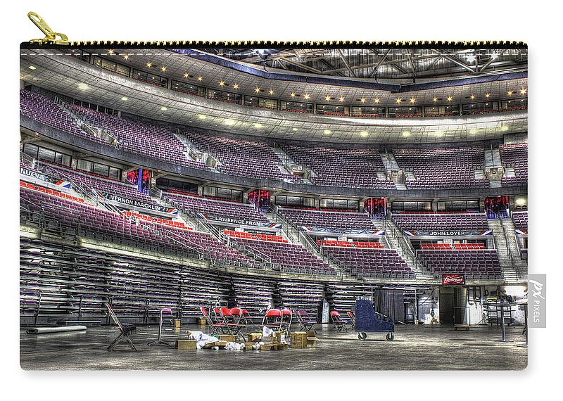 Carry-all Pouch featuring the photograph Inside The Palace Of Auburn Hills Mi by Nicholas Grunas