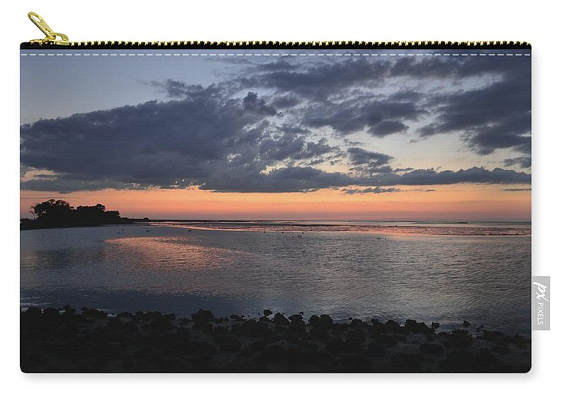 Gulf Carry-all Pouch featuring the photograph Inspiration by Kari Tedrick