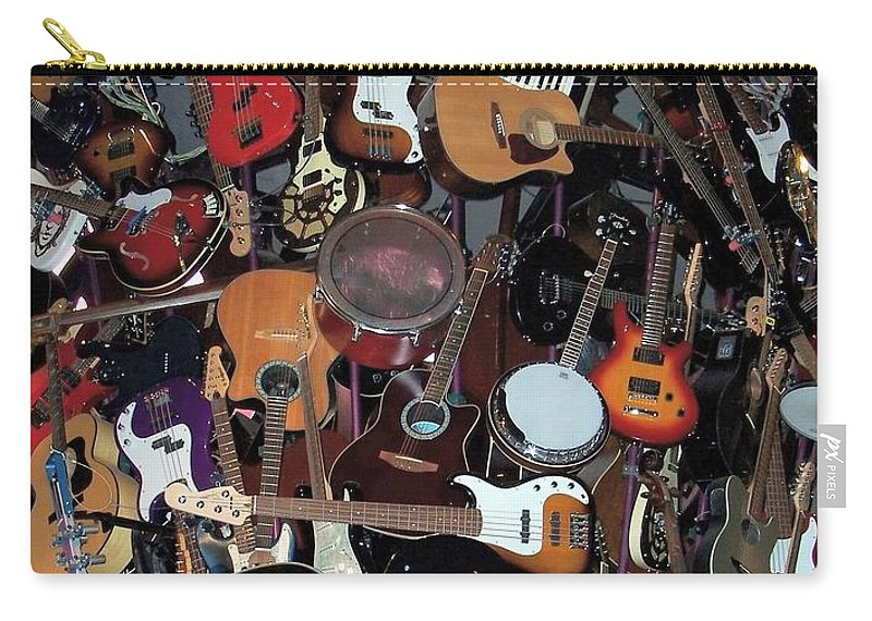 Instruments Carry-all Pouch featuring the photograph Instruments by Chalet Roome-Rigdon