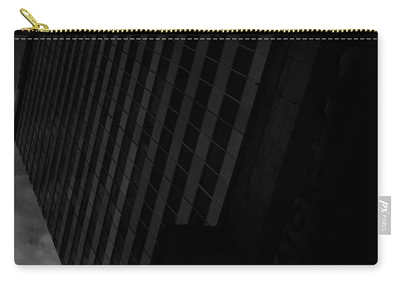 Down Town Carry-all Pouch featuring the photograph Integrated Elevation by The Artist Project