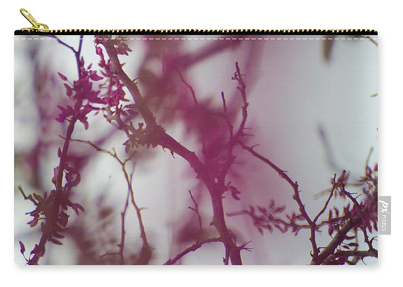Vine Carry-all Pouch featuring the photograph Inter-vined by Scott Hervieux