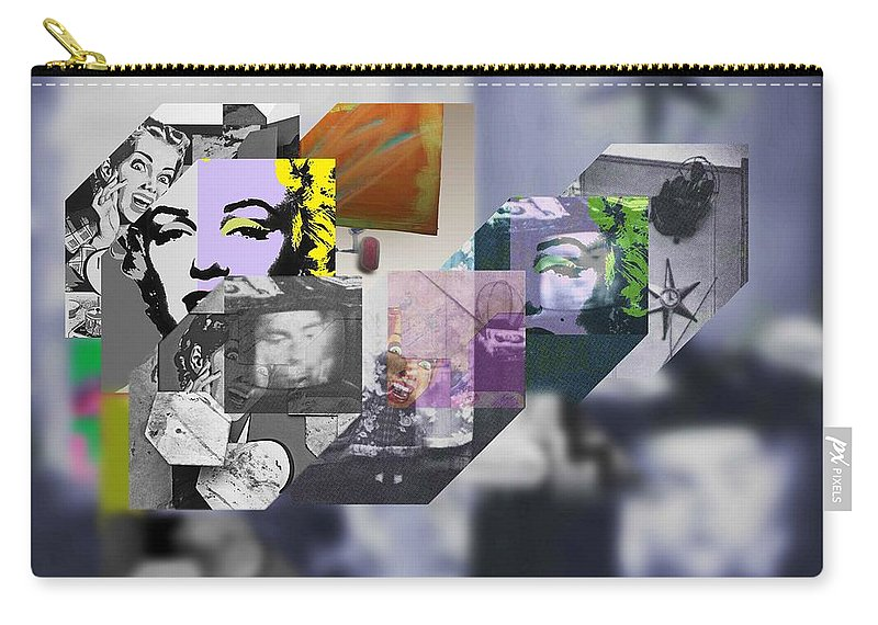 Harlem Carry-all Pouch featuring the painting Interior Iv by Charles Stuart