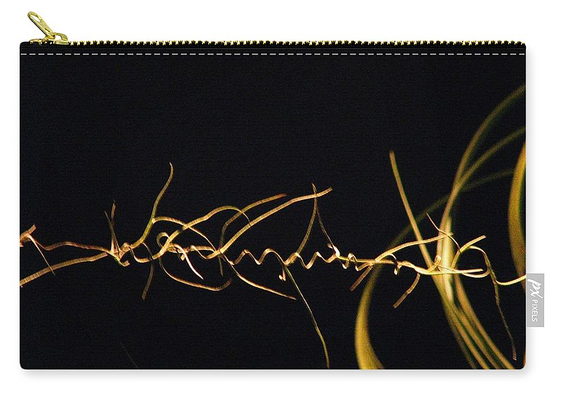 Abstract Carry-all Pouch featuring the photograph Intertwined by Patricia Blake