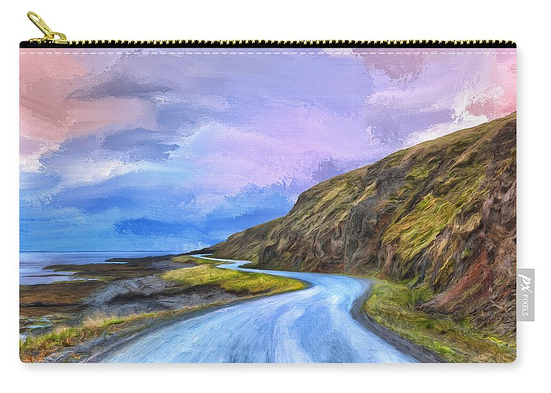 Into The Great Beyond Carry-all Pouch featuring the painting Into The Great Beyond by Dominic Piperata