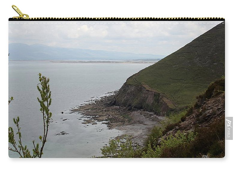 Coast Carry-all Pouch featuring the photograph Ireland Coast I by Christiane Schulze Art And Photography