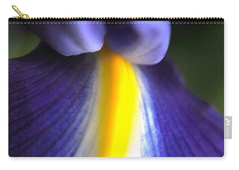 Yhun Suarez Carry-all Pouch featuring the photograph Iris by Yhun Suarez