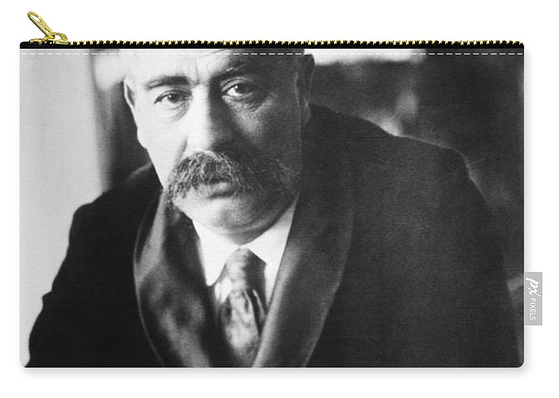1908 Carry-all Pouch featuring the photograph Isaac Loeb Peretz (1852-1915) by Granger