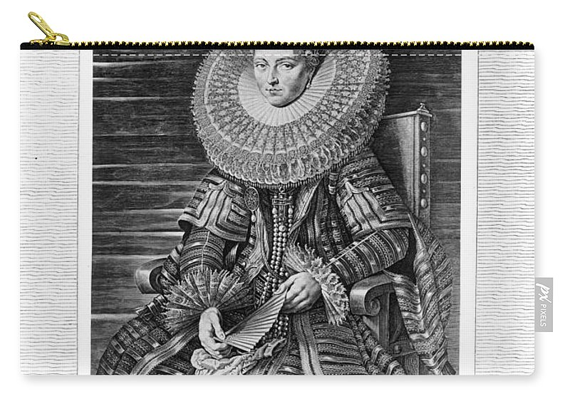 1635 Carry-all Pouch featuring the photograph Isabella Clara Eugenia by Granger