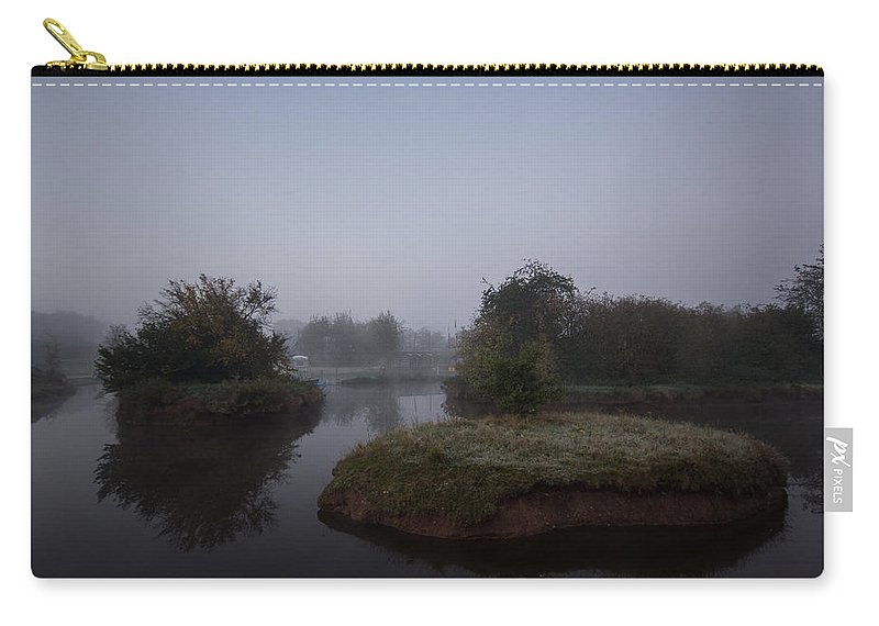 Mist Carry-all Pouch featuring the photograph Island Reflections by Dawn OConnor