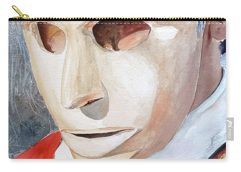 Sassu Carry-all Pouch featuring the painting Isohadore by Giovanni Marco Sassu