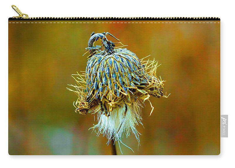 Macro Carry-all Pouch featuring the photograph Isolated Locoweed by Bill Tiepelman