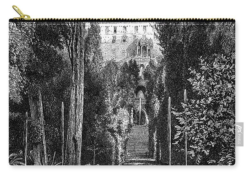 19th Century Carry-all Pouch featuring the photograph Italy: Tivoli by Granger