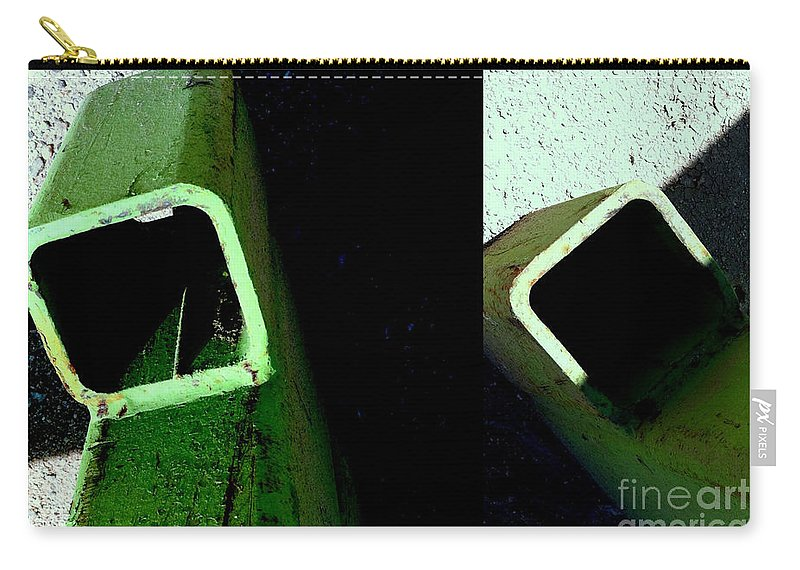 Carry-all Pouch featuring the photograph It's Not Easy Bein' Green by Marlene Burns