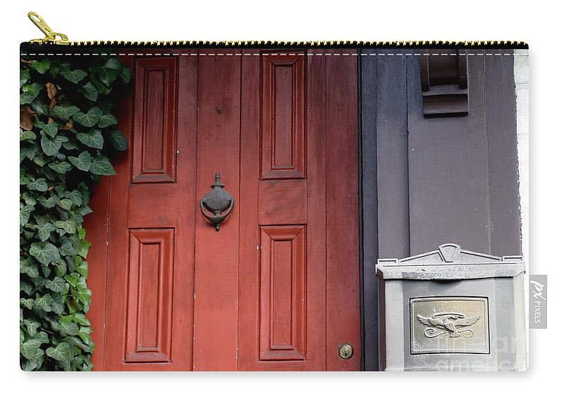 Entrance Carry-all Pouch featuring the photograph Ivy League by Living Color Photography Lorraine Lynch