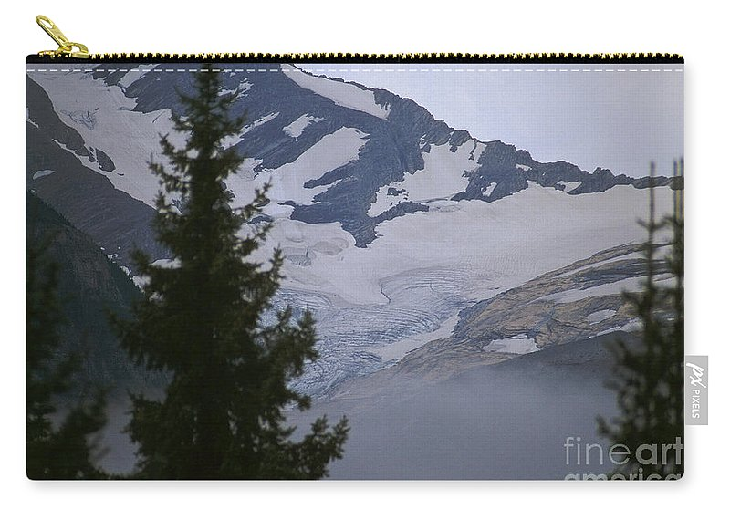 Jackson Glacier Carry-all Pouch featuring the photograph Jackson Glacier Icefields by Sharon Elliott