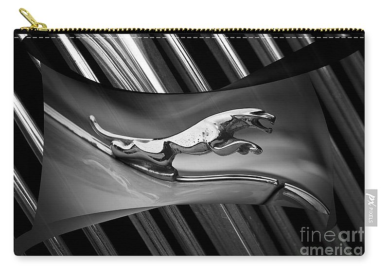 Clare Bambers Carry-all Pouch featuring the photograph Jaguar by Clare Bambers