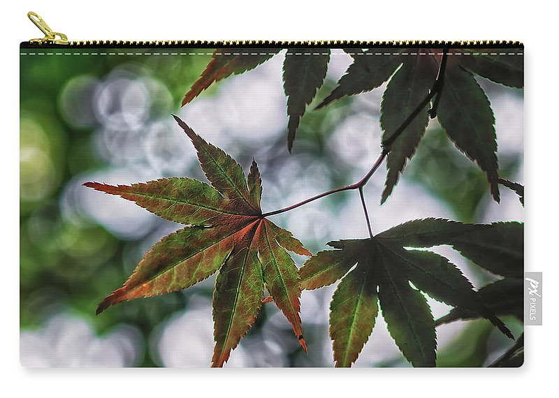 Da*55 1.4 Carry-all Pouch featuring the photograph Japanese Maple by Lori Coleman