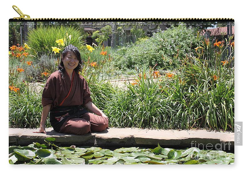 Asian Carry-all Pouch featuring the photograph Japanese Woman by Henrik Lehnerer