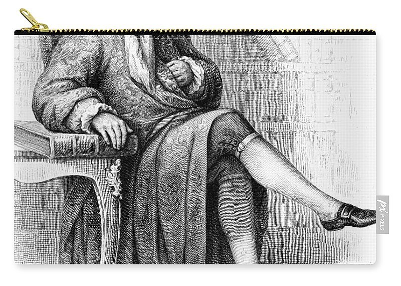 18th Century Carry-all Pouch featuring the photograph Jean Baptiste Rousseau by Granger