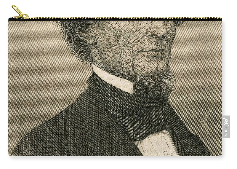 History Carry-all Pouch featuring the photograph Jefferson Davis, President by Photo Researchers