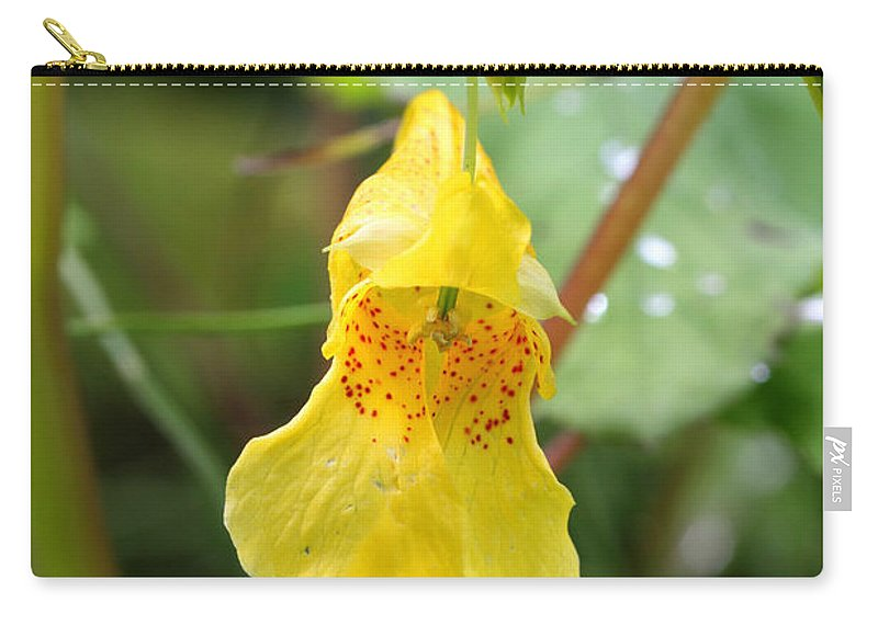 Doug Lloyd Carry-all Pouch featuring the photograph Jewel Weed by Doug Lloyd