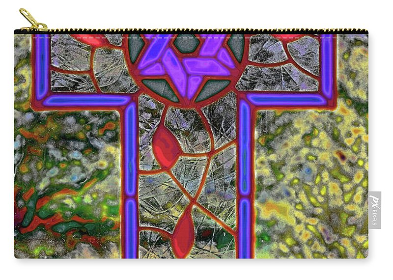 Santa Carry-all Pouch featuring the digital art Jewish Messiah by Charles Muhle