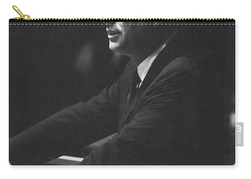 1963 Carry-all Pouch featuring the photograph John F. Kennedy, 1963 by Granger