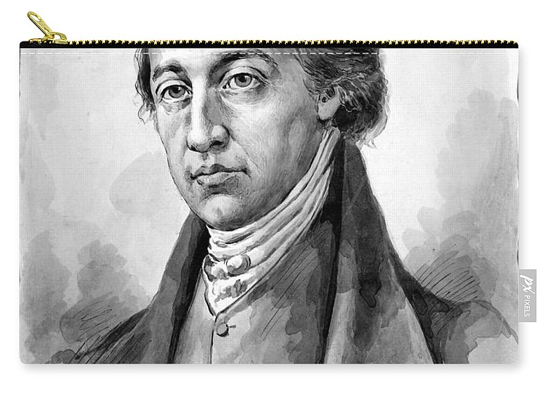 18th Century Carry-all Pouch featuring the photograph John Filson (c1747-1788) by Granger