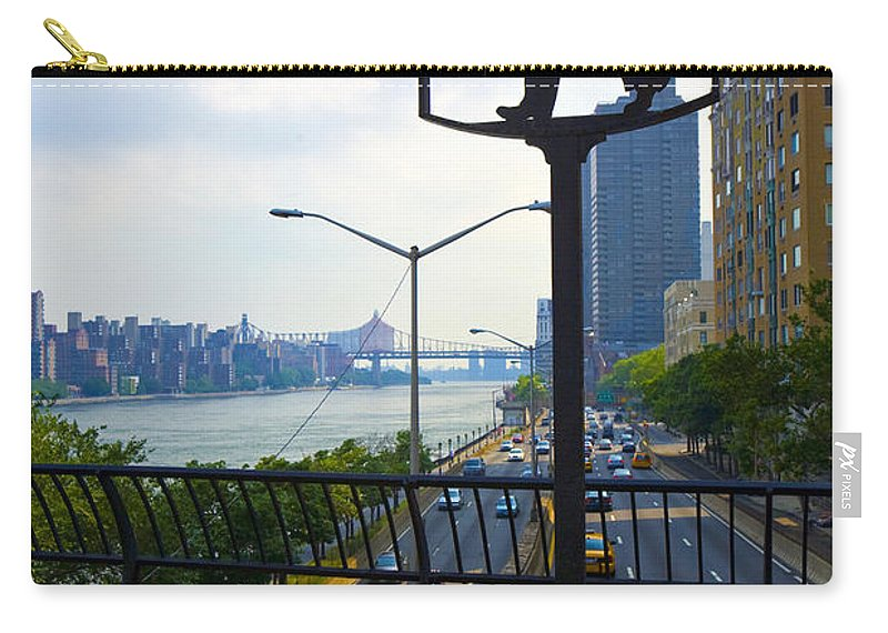 John Finley Walk Carry-all Pouch featuring the photograph John Finley Walk V11 by Madeline Ellis