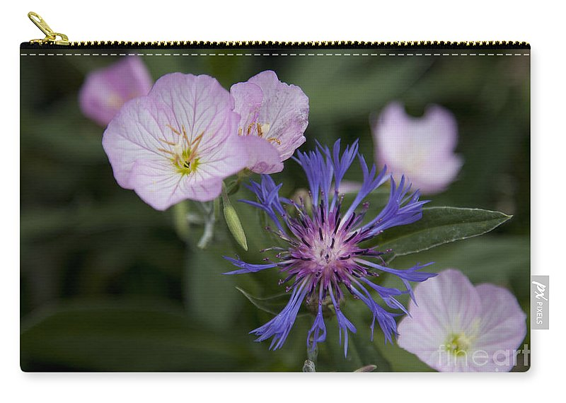 Floral Carry-all Pouch featuring the photograph Joined by Amanda Barcon