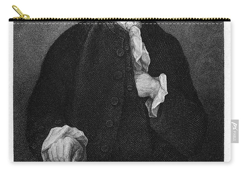 18th Century Carry-all Pouch featuring the photograph Jonathan Trumbull by Granger