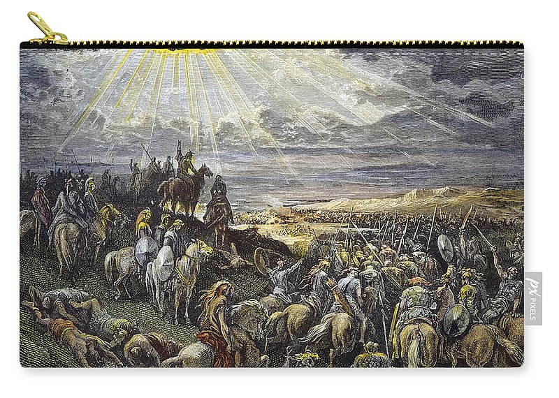 Army Carry-all Pouch featuring the photograph Joshua by Granger