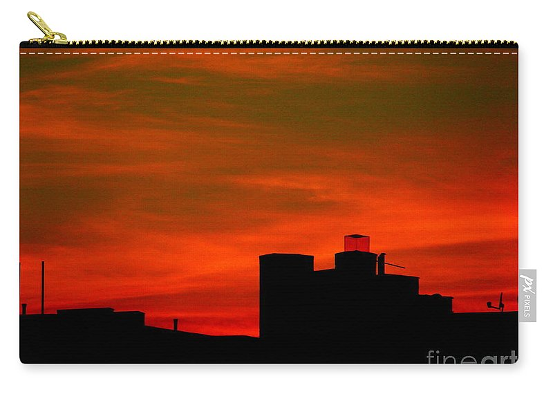 Sunset Carry-all Pouch featuring the photograph June 2 2009 by Mark Gilman