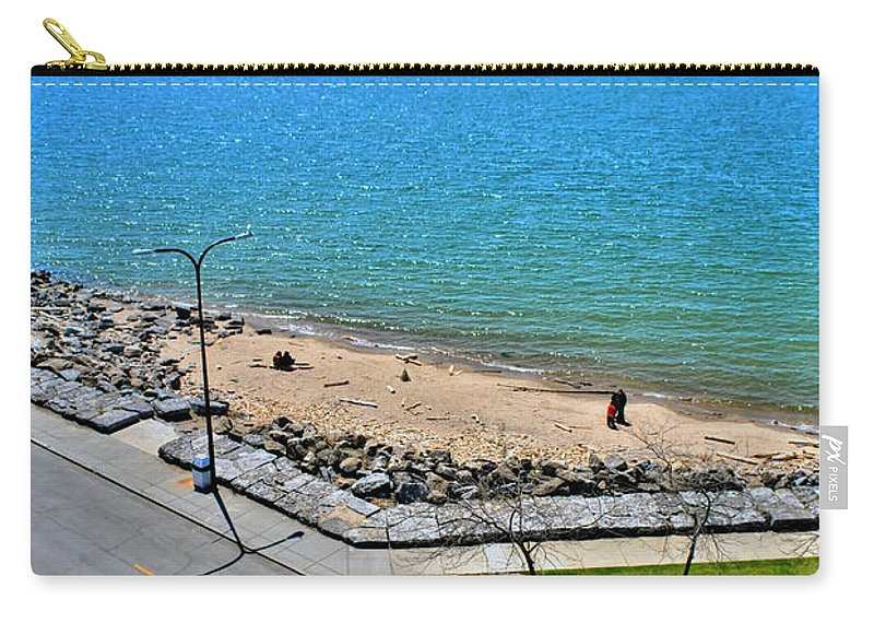 Carry-all Pouch featuring the photograph Just A Beautiful Day by Michael Frank Jr