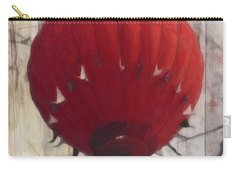 Hot Air Balloon Carry-all Pouch featuring the photograph Just Floatin' Around by Trish Tritz
