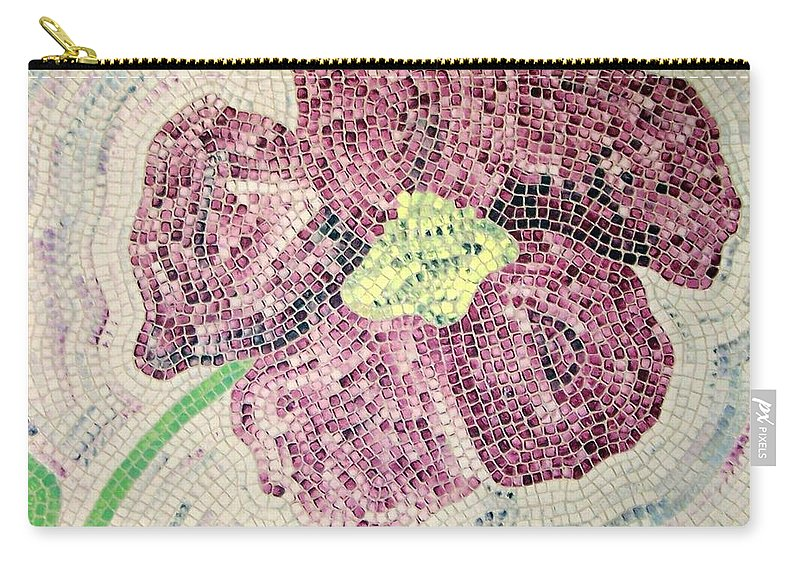 Original Carry-all Pouch featuring the painting Just One by Cynthia Amaral